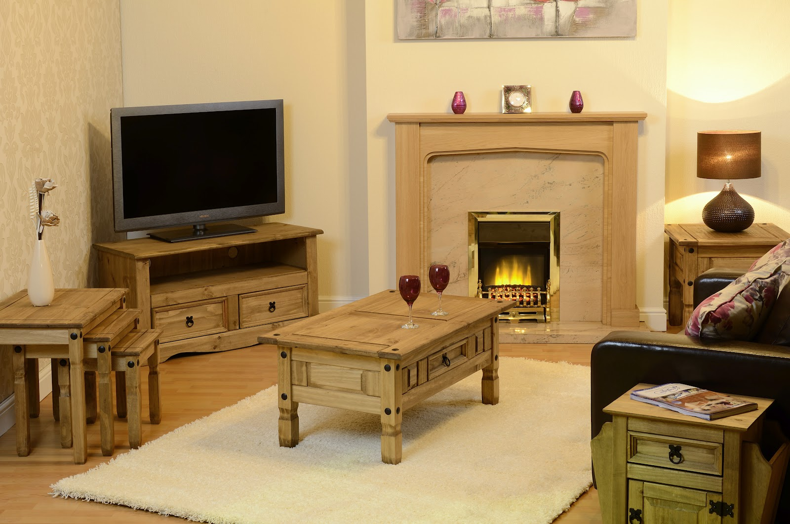 Room Settings Illustrating Some Of The Corona Furniture Range