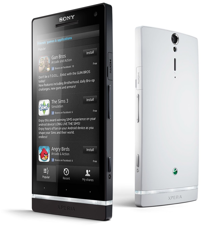 Sony Xperia SL: Specs & Price [Updated]