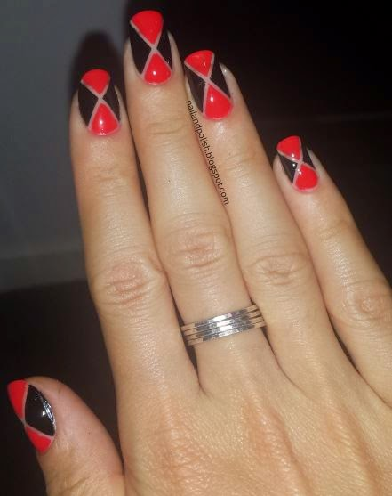 Nail Polish Casino Inspired Nail Art