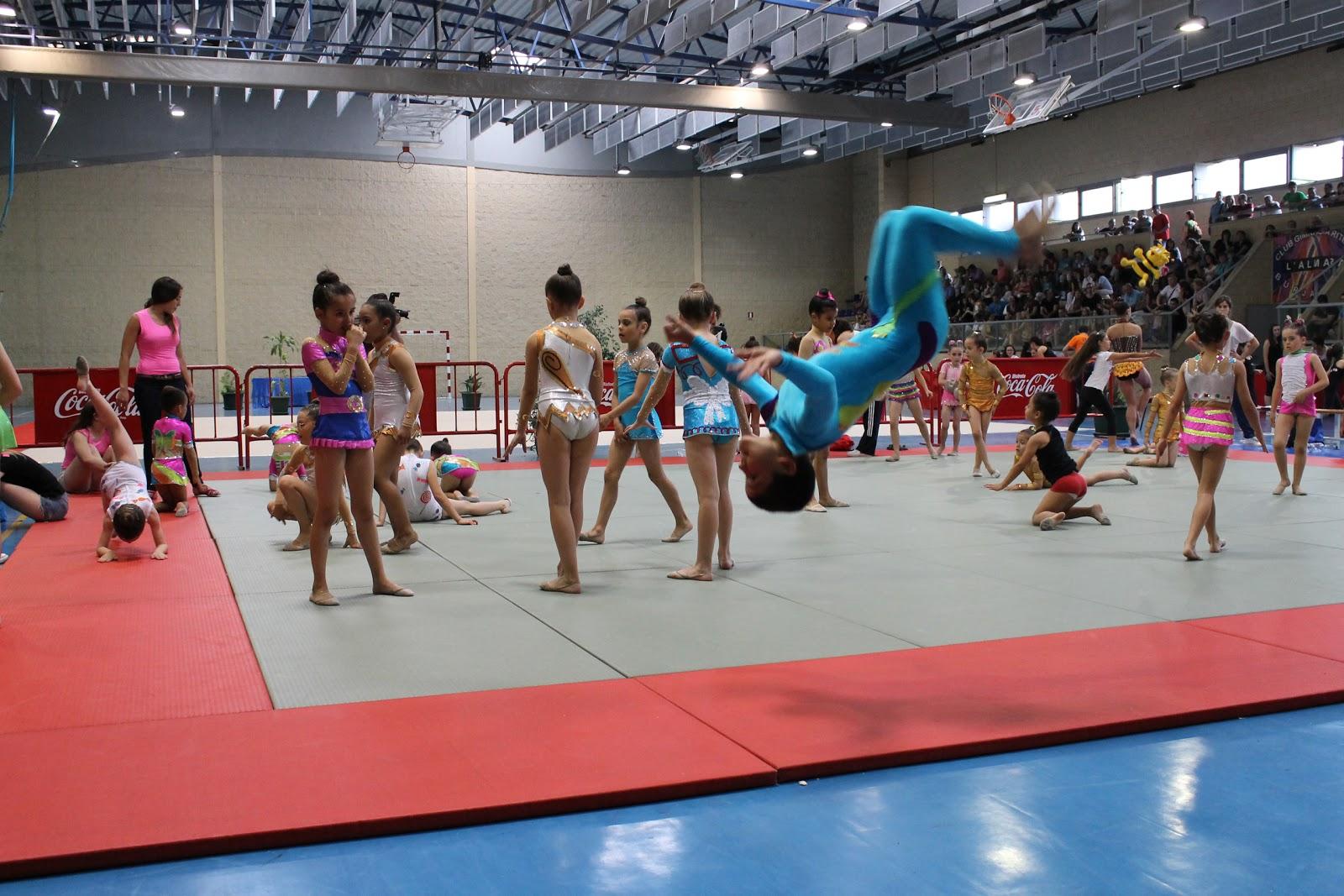Club de gimnasia r tmica itveca 1 fase interclubs for Club gimnasio