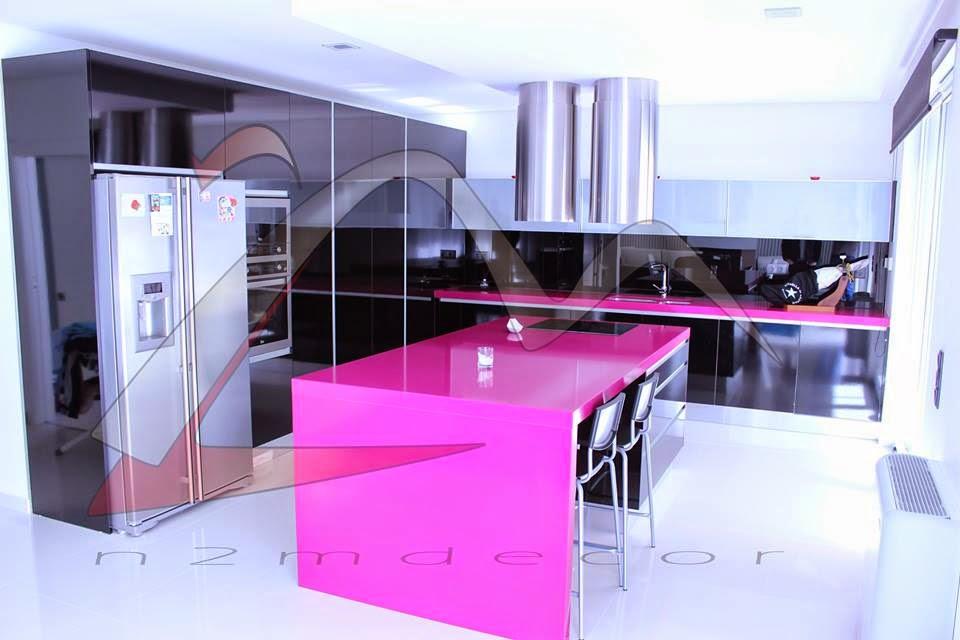 Construindo Minha Casa Clean Quero Minha Cozinha Rosa E