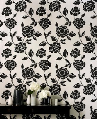 Black and white wallpaper designs 2leep online for Black and white wallpaper designs