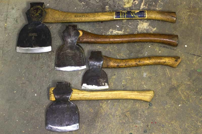 carved axe handle. axe handles, size is important. carved handle g