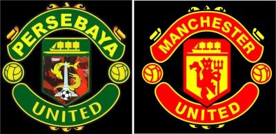 Beredar Logo Persebaya United Mirip Manchester United