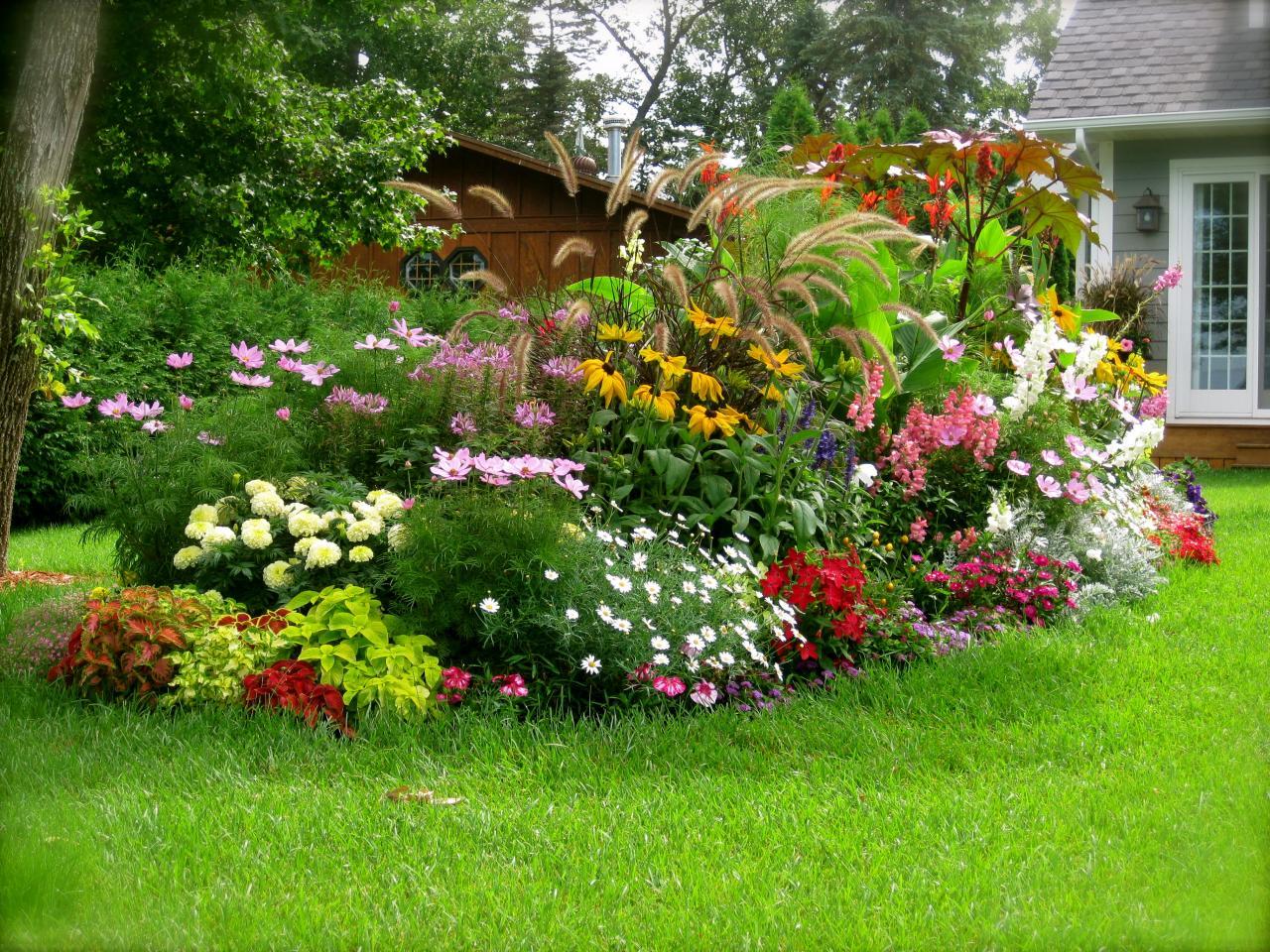 como crear arriates diferentes en el diseo de jardines