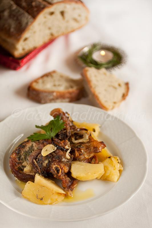 agnello alla molisana per l'italia nel piatto