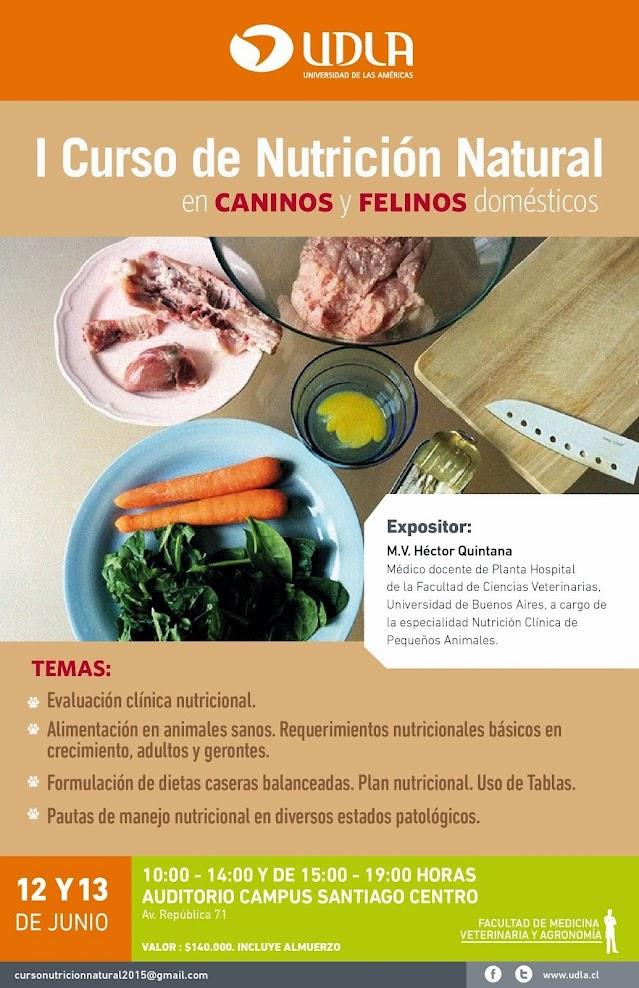 I Curso Nutrición Natural 12 y 13 de junio