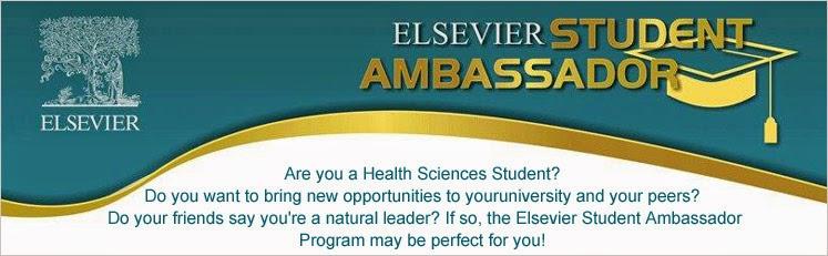 Elsevier Brand Ambassador 2013 | JSS College of Pharmacy, Mysore