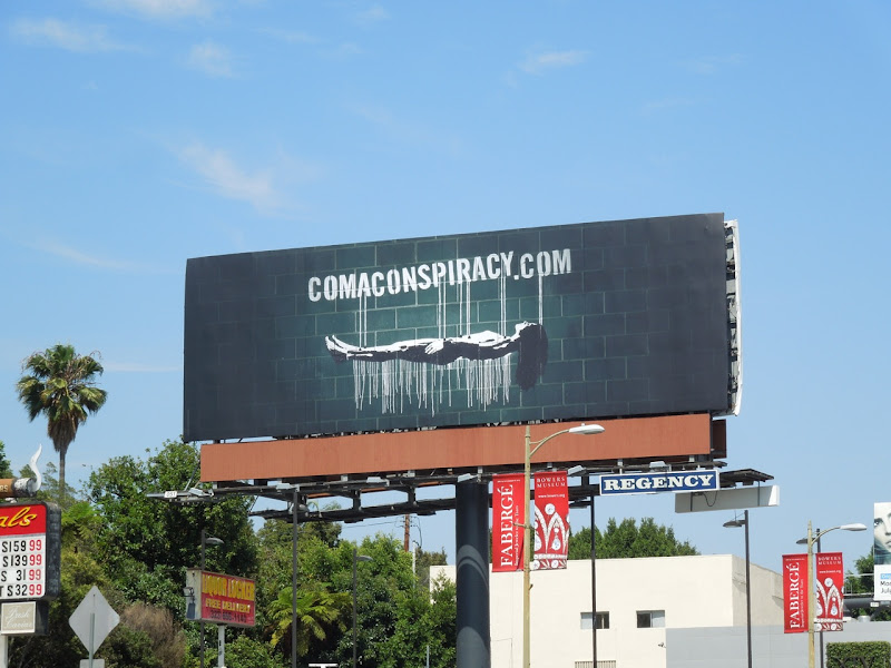 Coma Conspiracy teaser billboard