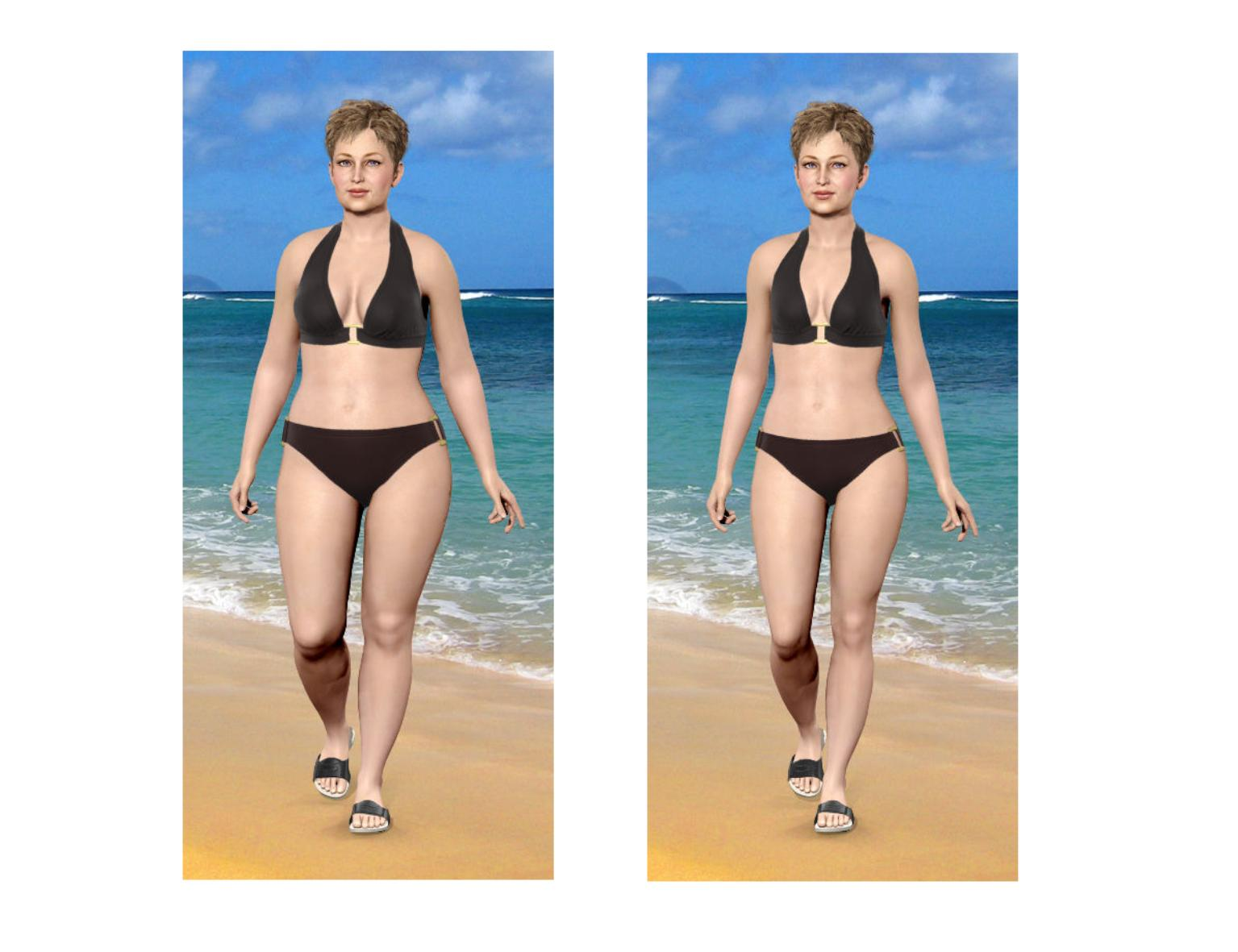 Progress lets you visualize your weight loss by taking perfectly Free weight loss photo simulator