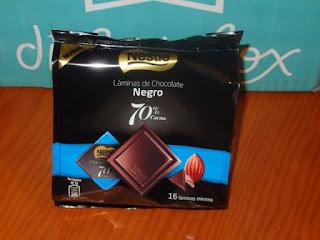 Láminas de chocolate Nestlé
