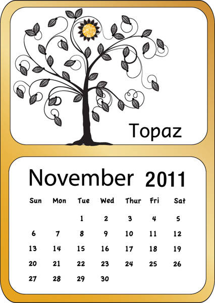 Displaying (15) Gallery Images For November Calendar Clipart...