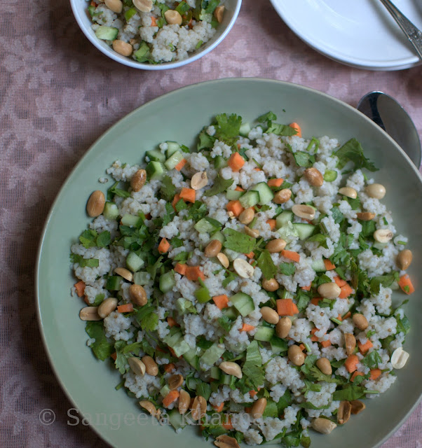 Sama ke chawal for fasting | a Tabbouleh like salad...