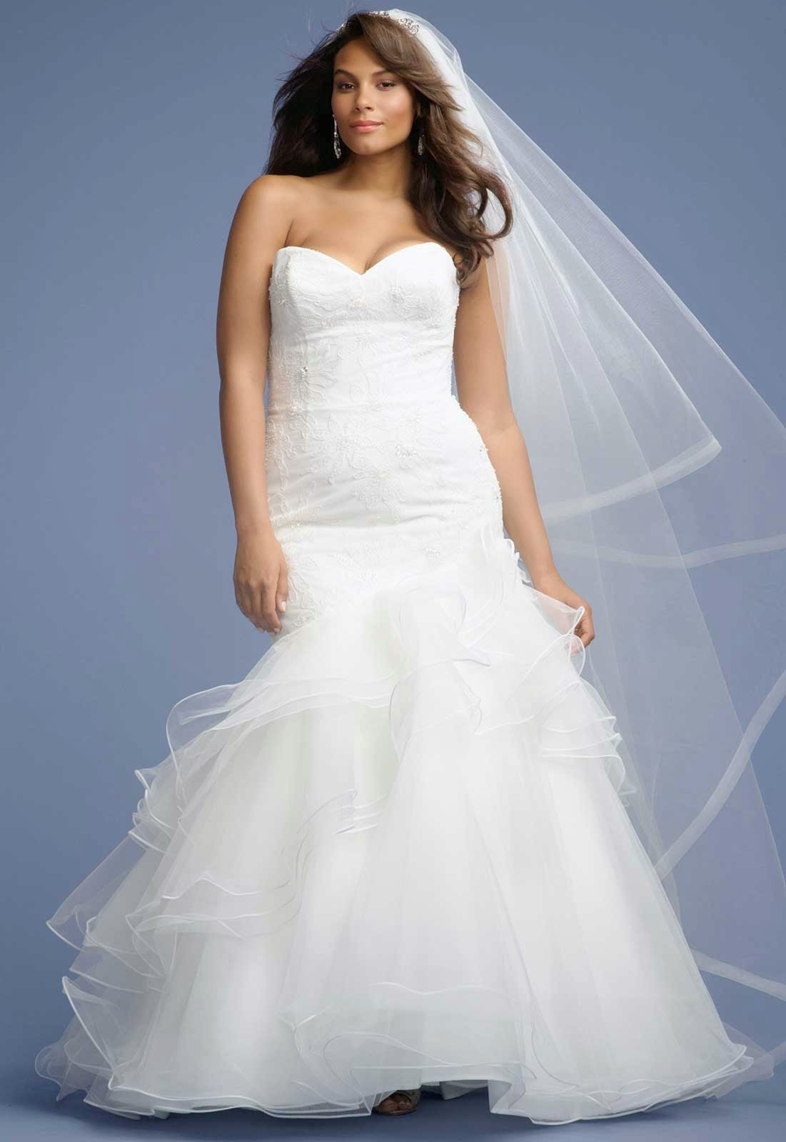 Mermaid Plus Size Wedding Dresses Concepts Ideas Photos HD