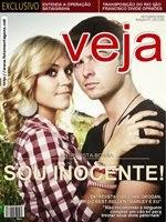 Montagem de fotos capa de Revista Veja