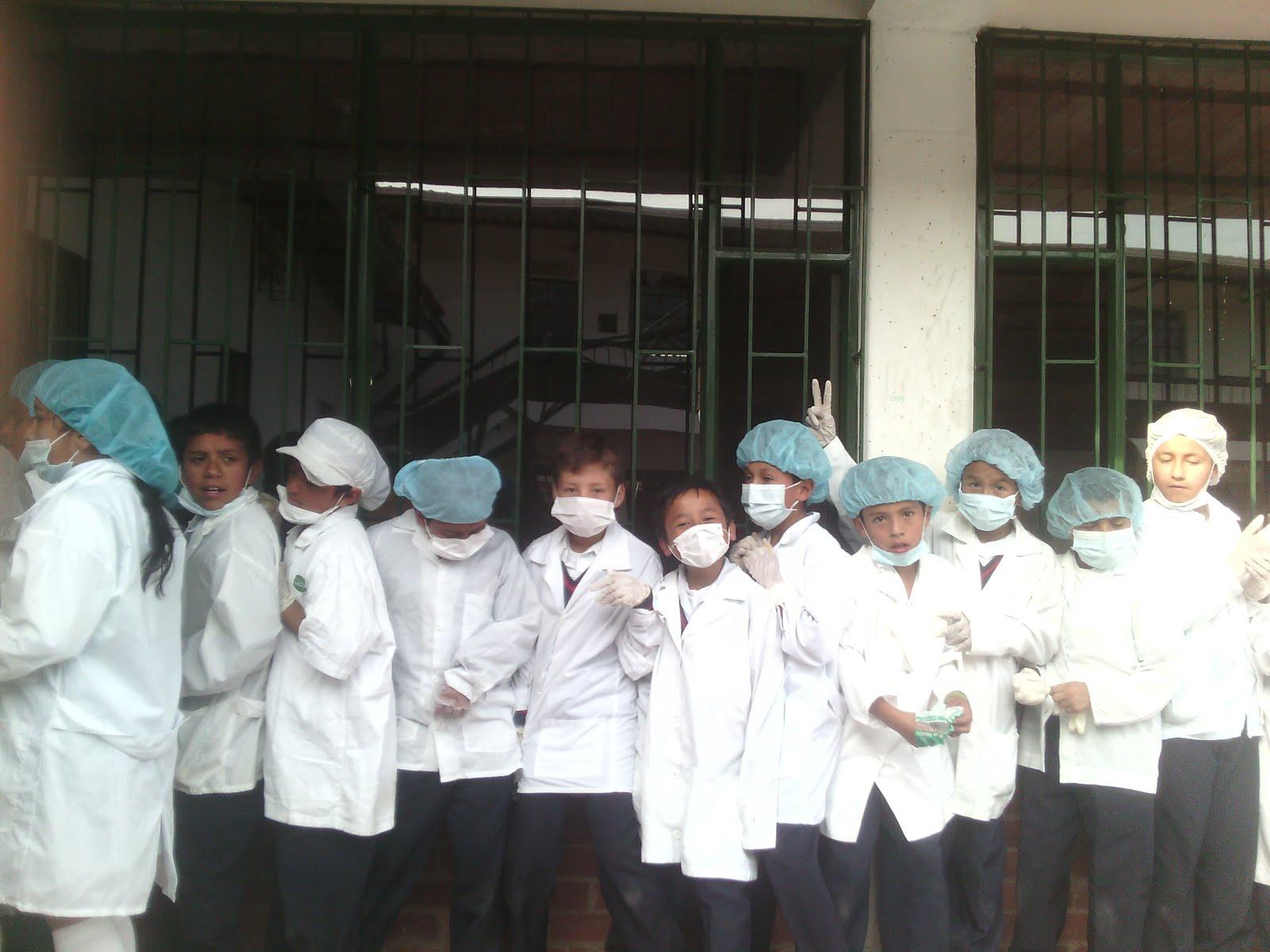 En el Laboratorio
