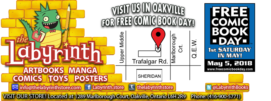 LABYRINTH BOOKS Toronto Comics MANGA and  GRAPHIC NOVELS - TORONTO