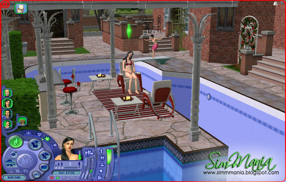 how to make elevated area sims 4