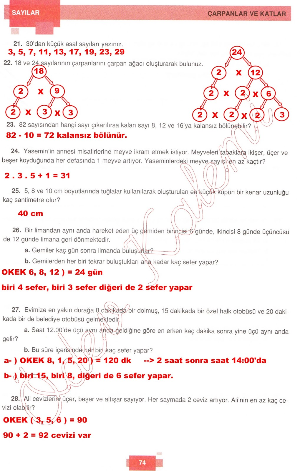 Sinif+Dortel+Yayincilik+Ogrenci+Calisma+Kitabi+Cevaplari+Sayfa+-+74