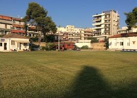 Το γήπεδο της ακαδημίας ποδοσφαίρου