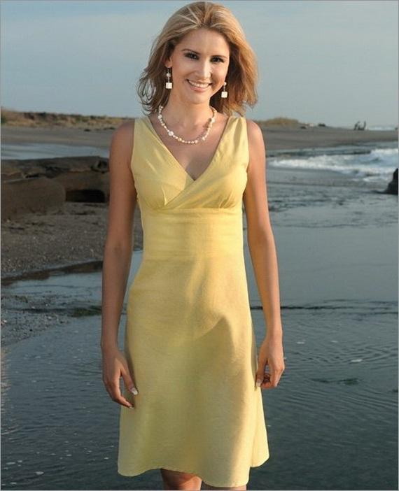 wedding dresses for the beach 2012