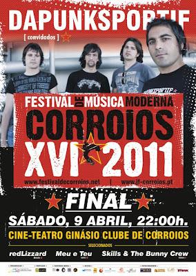 Final do XVI Festival de Música Moderna Corroios 2011