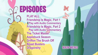 Episode list from Disc 1