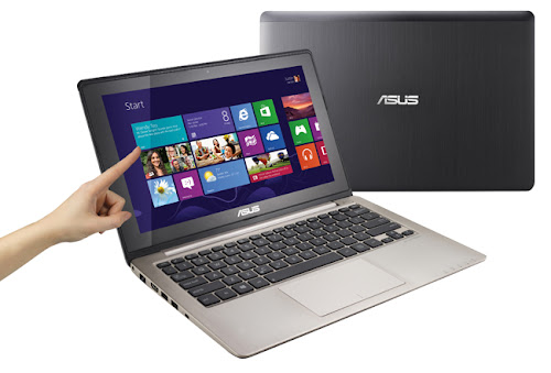 notebook asus vivobook harga baru, spesifikasi laptop touchscreen windows 8, gambar dan review notebook windows 8 layar sentuh