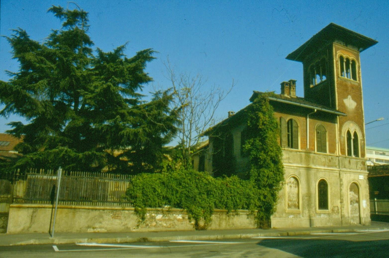 La villa Bombaglio scomparsa