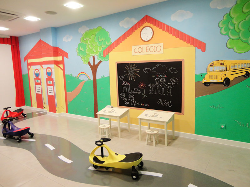Decopared murales infantiles decorativos for Decoracion de guarderias