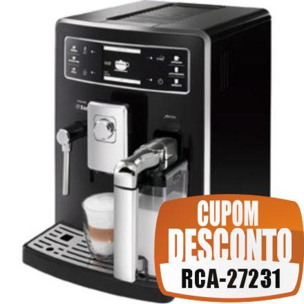 Cupom Efácil - Cafeteira Expresso Automática Xelsis Philips / Saeco