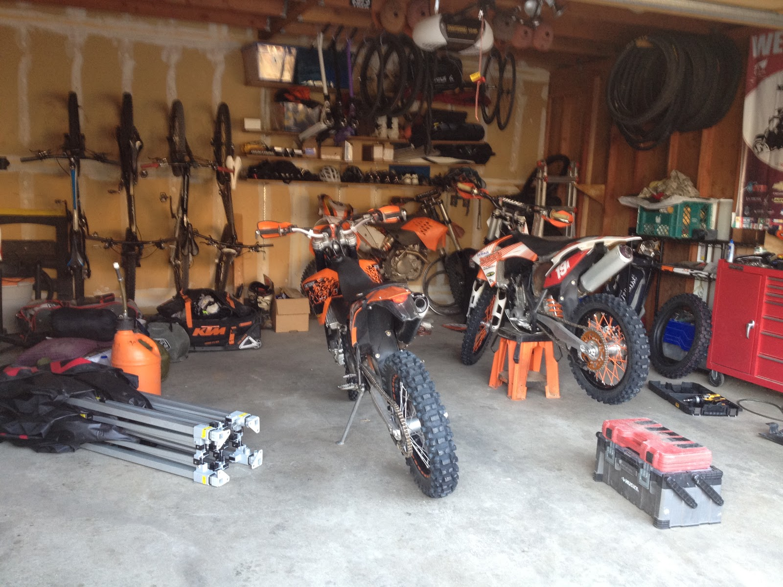 All in good fun the doldrums of moto preparation for Garage preparation moto