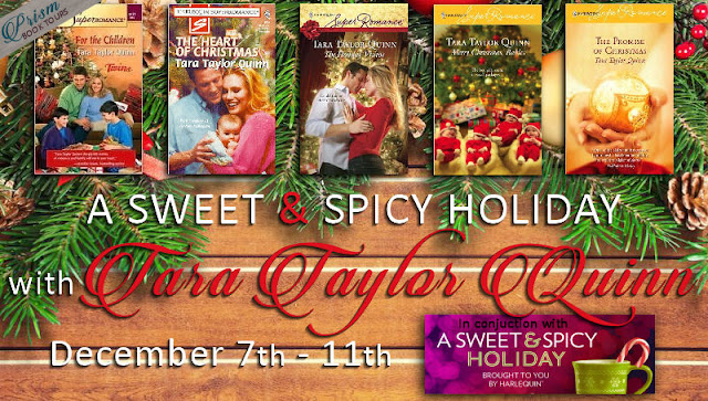 A Sweet & Spicy Holiday with Tara Taylor Quinn – Excerpt from The Holiday Visitor & Golden Tassies Recipe