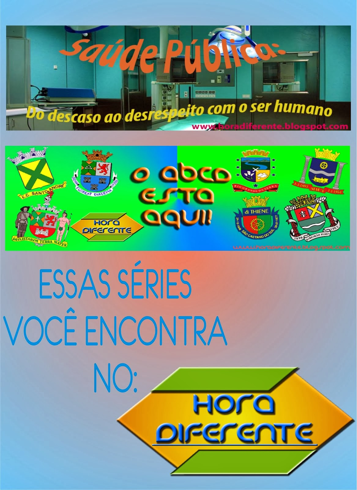 Séries do blog!