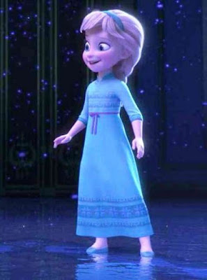 Foto Elsa Frozen Kecil Terbaru