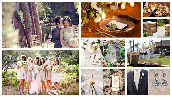 Eco Eathy Wedding Inspiration