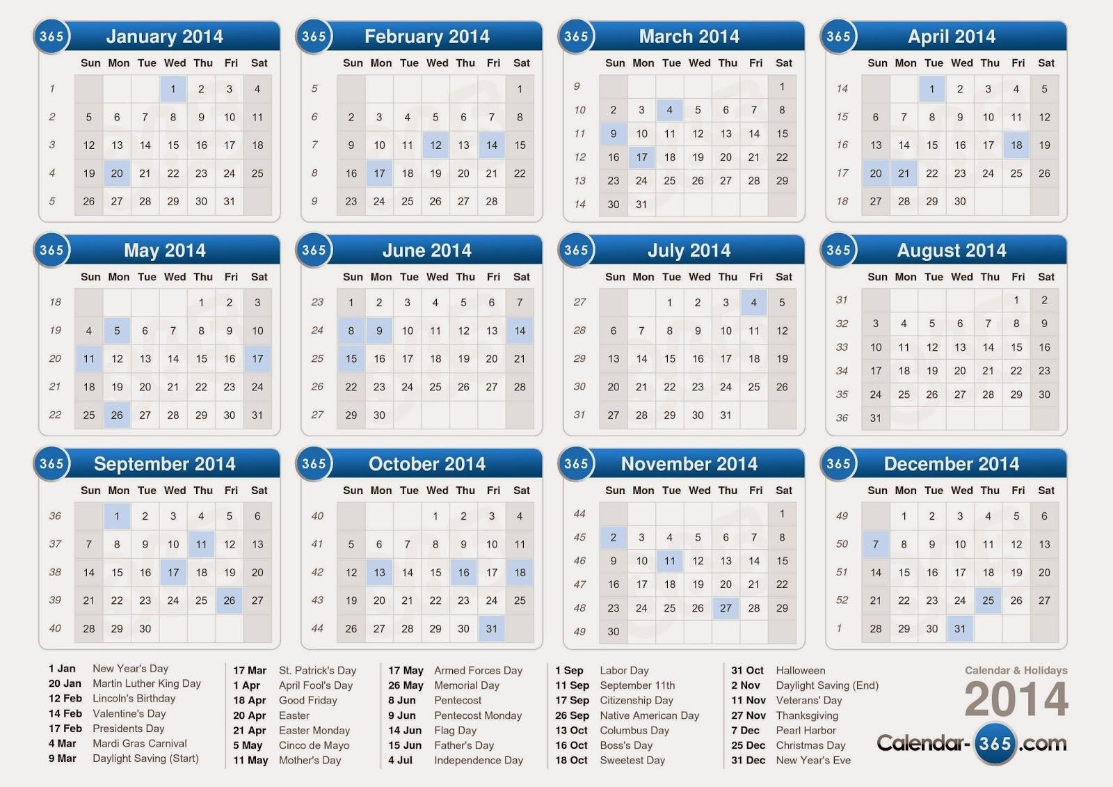 Download kalender 2014 hari libur indonesia dan jawa lengkap