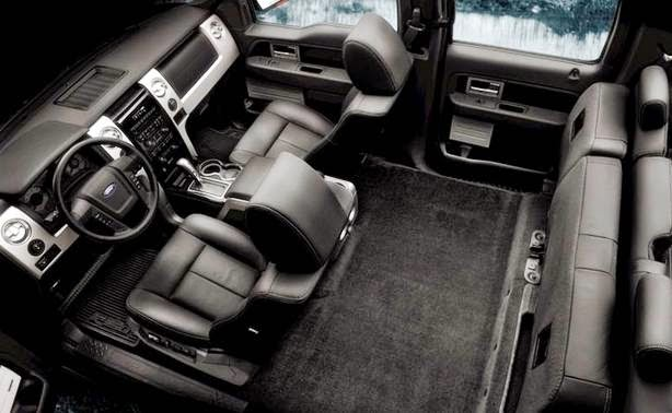Ford F150 Fx4 Interior View