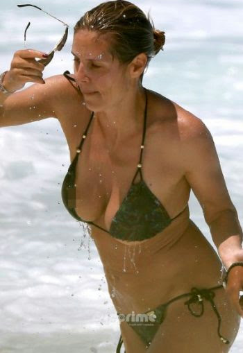 "Heidi Klum ""Bikini"" rescue in Hawaii"
