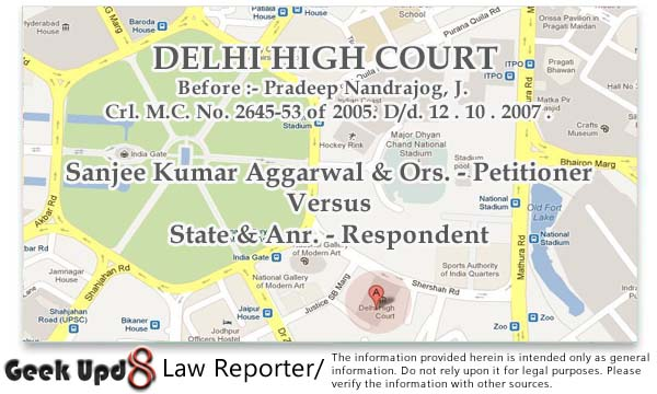 Sec. 498a and 406 IPC Quashed – Since NO specific allegations of entrustment of Istridhan made in complaint against petitioners, IPC 406 not attracted (NRI) - Delhi High Court