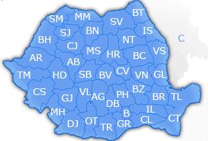 Il meteo in Romania