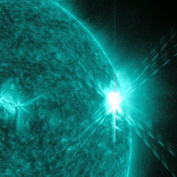 NASA's SDO captures X7 Class Flare in extreme UV light