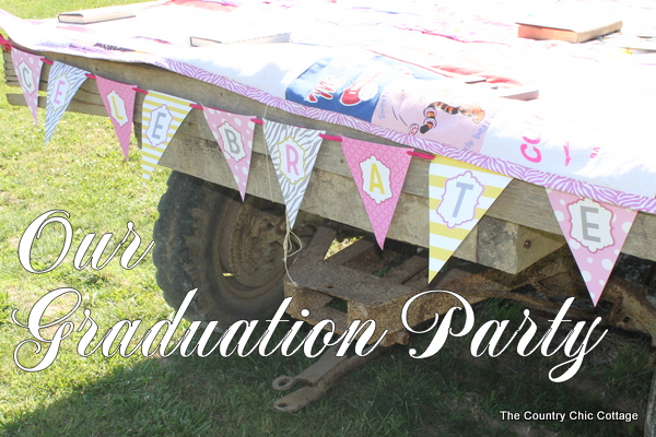 Graduation Party Decorating Ideas 50+ ideas for graduation - the cottage market