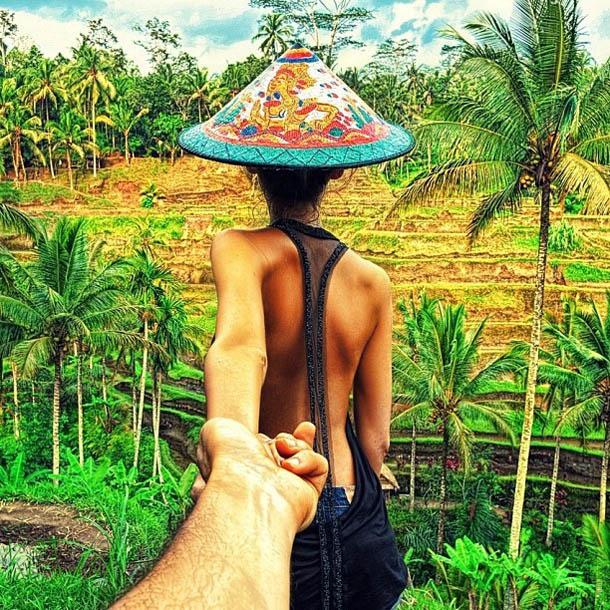 Follow Me To - Bali - Fotógrafo Murad Osmann segue a namorada pelo mundo
