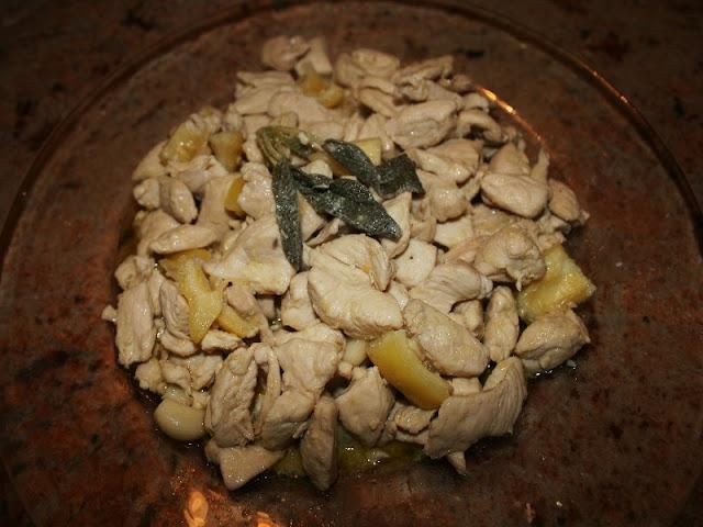 secondi - spezzatino di petto di pollo al limone (cristina)
