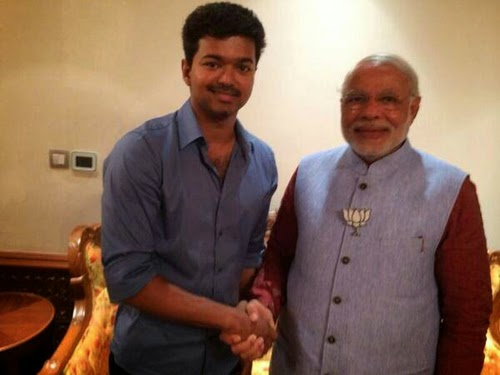 Ilayathalapathy Vijay Meets Narendra Modi Photo Gallery