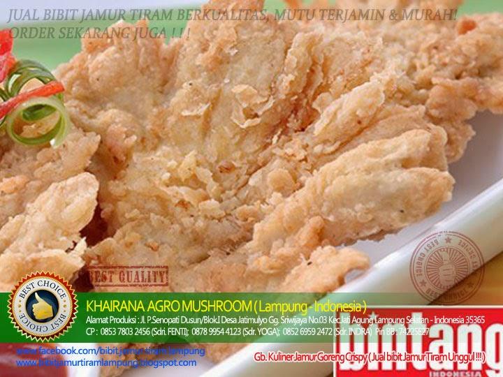 Resep Jamur Goreng Crispy