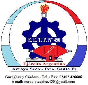 "Escuela de Educación Secundaria Modalidad Técnico Profesional N° 450 ""Ejército Argentino"""