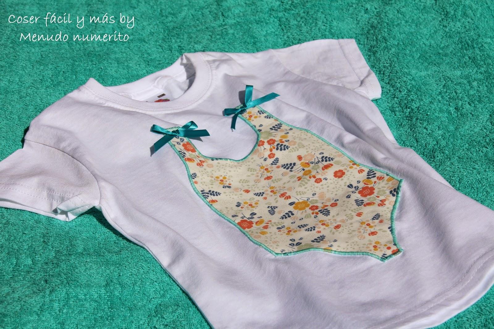 El Blog De Coser F Cil Y M S By Menudo Numerito Costura  ~ Ideas Para Decorar Camisetas Infantiles