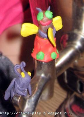 Plasticine fairy tale Mukha-Tsokotukha